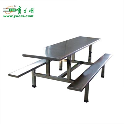 66171.高档全不锈钢面八人餐桌  2680元/套